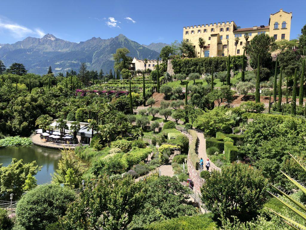 La Vimea Trauttmansdorff: veganes Hotel in Naturns, Südtirol