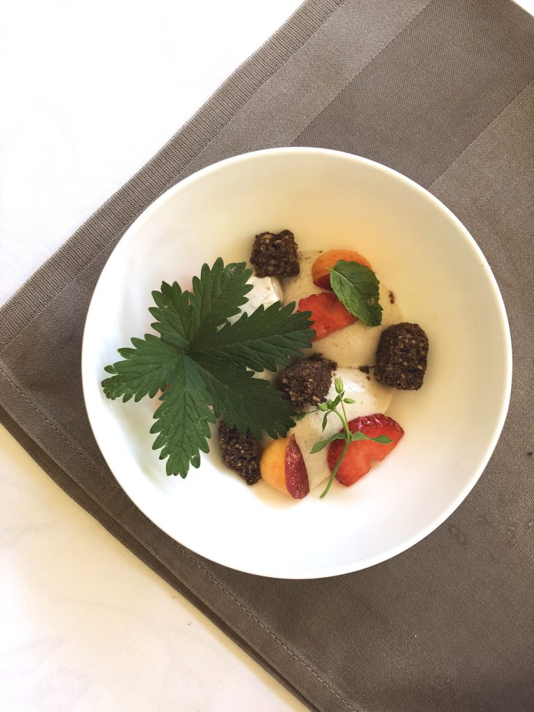 La Vimea Abendessen Dessert: veganes Hotel in Naturns, Südtirol