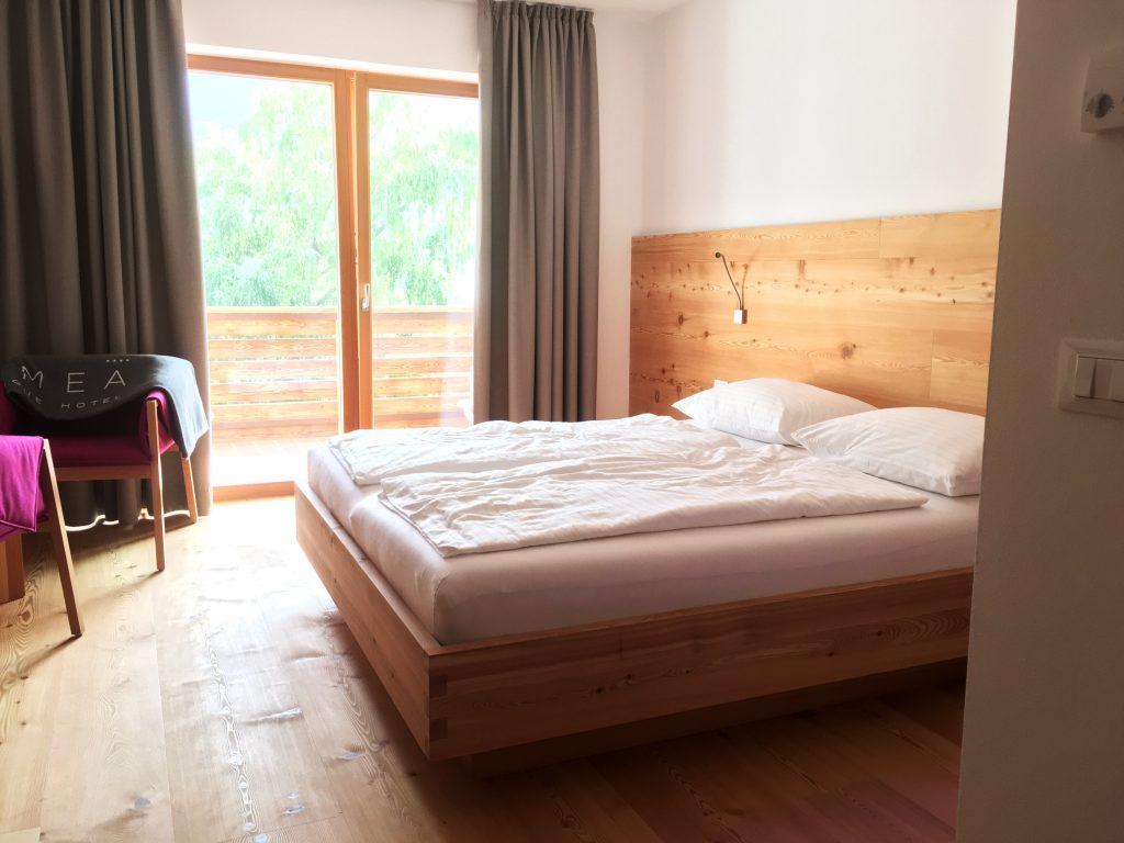 La Vimea Zimmer: veganes Hotel in Naturns, Südtirol